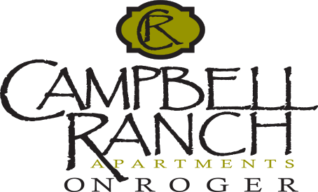 Campbell Ranch on Roger logo
